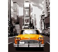Раскраска по номерам Нью-Йоркское такси