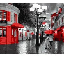 Картина по номерам Улица старого города
