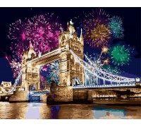 Картина по номерам Салют над Лондоном