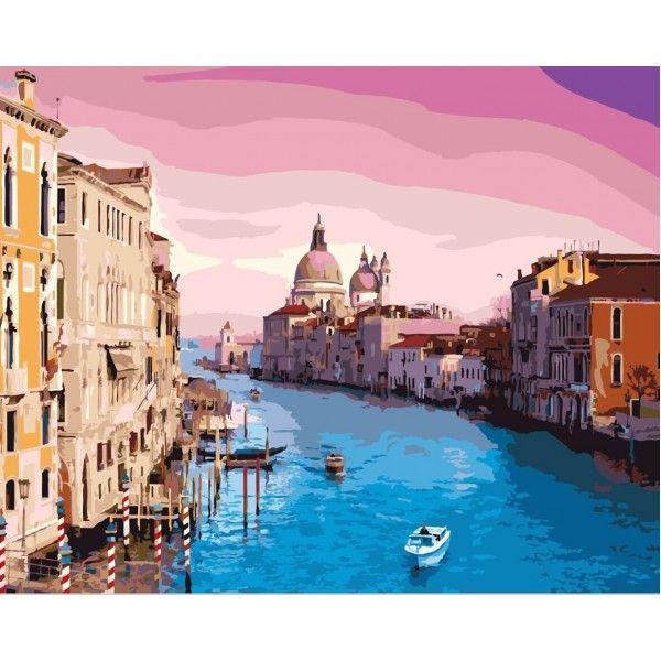 Картина по номерам Утро в Венеции