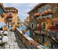 Картина по номерам Белый город