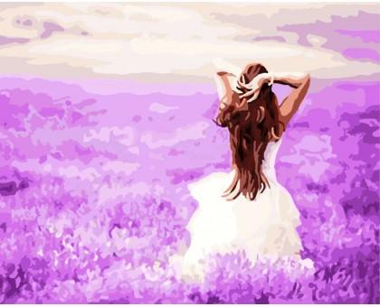 Картина по номерам Лавандовые мечты