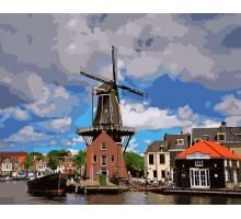 Картина по номерам Ветряная мельница