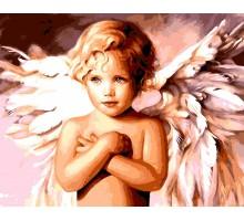 Картина по номерам Милый ангел