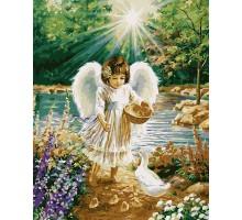Картина по номерам Ангелочек