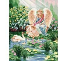 Картина по номерам Ангел и ребенок