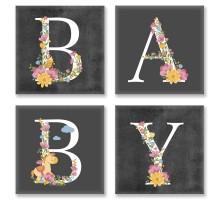 Картина по номерам Квартет Слово BABY Лофт