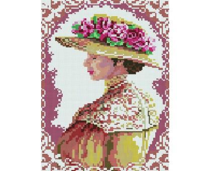 Картина по номерам Аристократическая дама