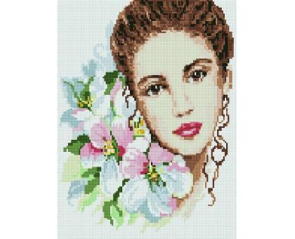 Картина по номерам Девушка-весна