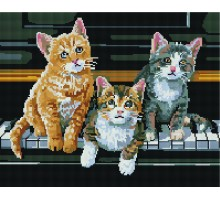 Картина по номерам Игривые котята