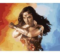 Картина по номерам Супер женщина