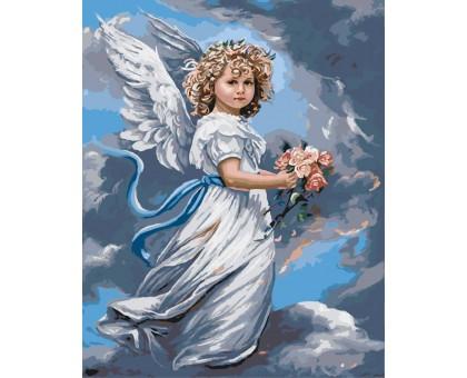 Картина по номерам Небесный ангел