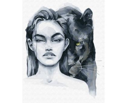 Картина по номерам Опасные питомцы: пантера
