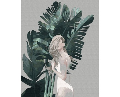 Картина по номерам Листья Бора-Бора