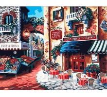 Картина по номерам Итальянская улица Вкус Италии