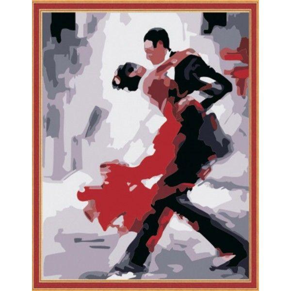 Картина по номерам Танго