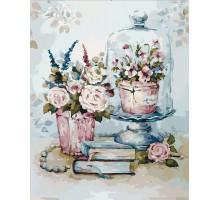Картина по номерам Бирюзовый натюрморт