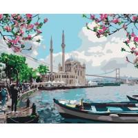 Раскраска по номерам Турецкое побережье