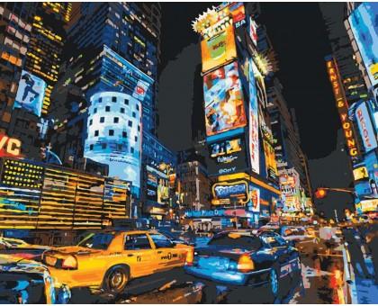 Картина по номерам Улицами Нью-Йорка