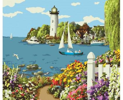 Картина по номерам Теплое море