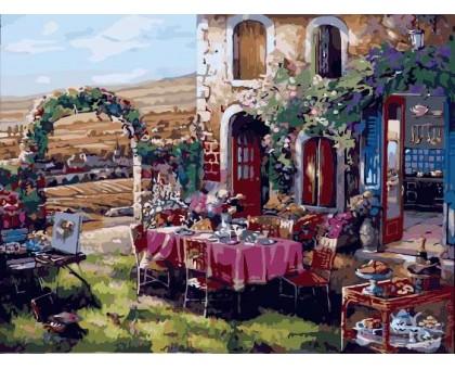 Картина по номерам Утро в Провансе