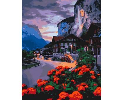 Картина по номерам Лето в Швейцарии