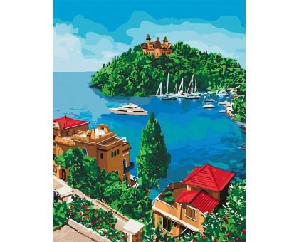 Раскраска по номерам Остров надежды