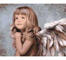 Картина по номерам Мой милый ангел