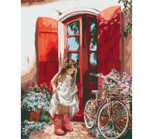 Картина по номерам Маленькая принцесса