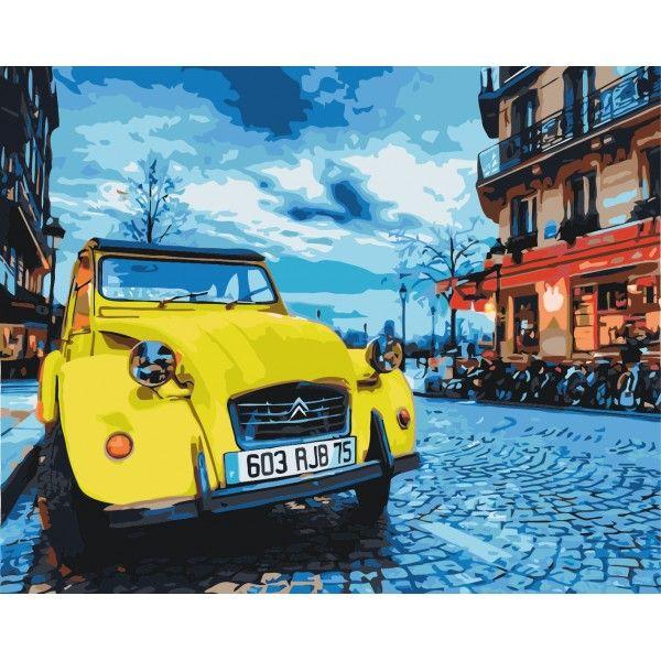 Картина по номерам Винтажное авто