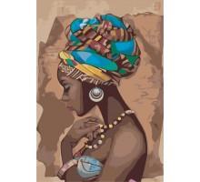 Картина по номерам Красота в стиле этно