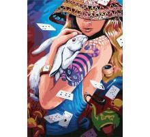 Картина по номерам Алиса