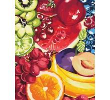 Картина по номерам Аппетитные фрукты