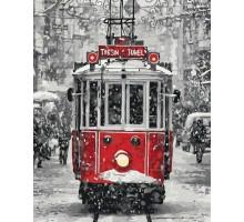Картина по номерам Волшебный трамвайчик