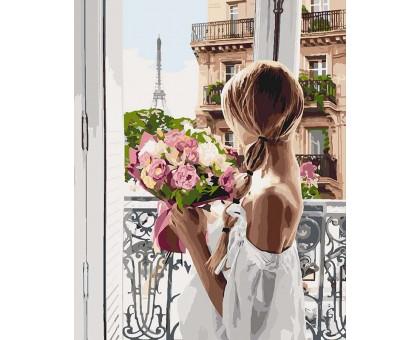 Картина по номерам Из Парижа с любовью