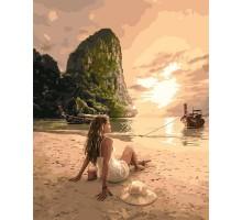 Картина по номерам Влюбленная в море