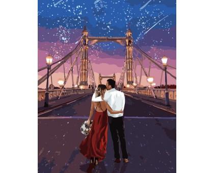 Раскраска по номерам Город влюбленных