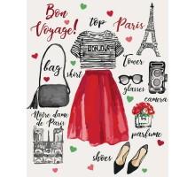 Картина по номерам Bon voyage