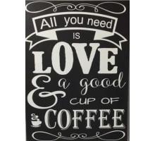 Картина по номерам All you need is coffee