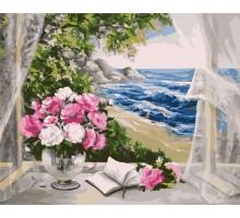 Картина по номерам Букет у моря