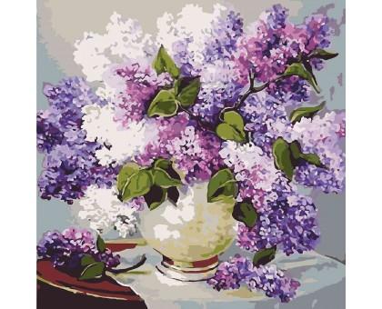Картина по номерам Весенние ароматы