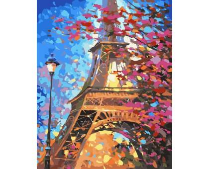 Картина по номерам Краски весеннего Парижа