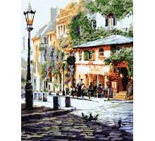 Картина по номерам Италия Летнее кафе
