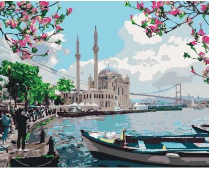 Картина по номерам Турецкое побережье