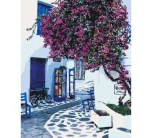 Раскраска по номерам Солнечная Греция