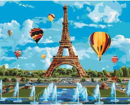 Картина по номерам Город любви