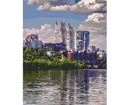 Картина по номерам Любимый город