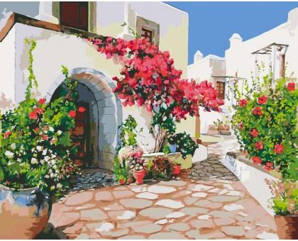 Картина по номерам Греческий дворик