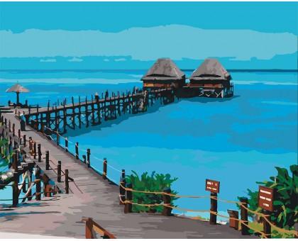 Картина по номерам Пляж Танзании