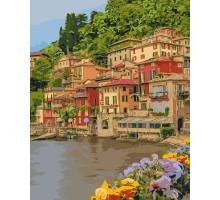 Картина по номерам Набережная Италии